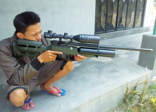 Senapan Angin PCP AWP Bocap Marauder Local
