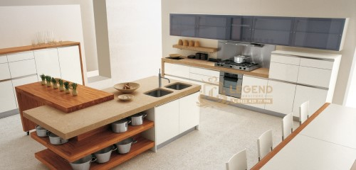 Desain Interior kitchen Set laci Unik